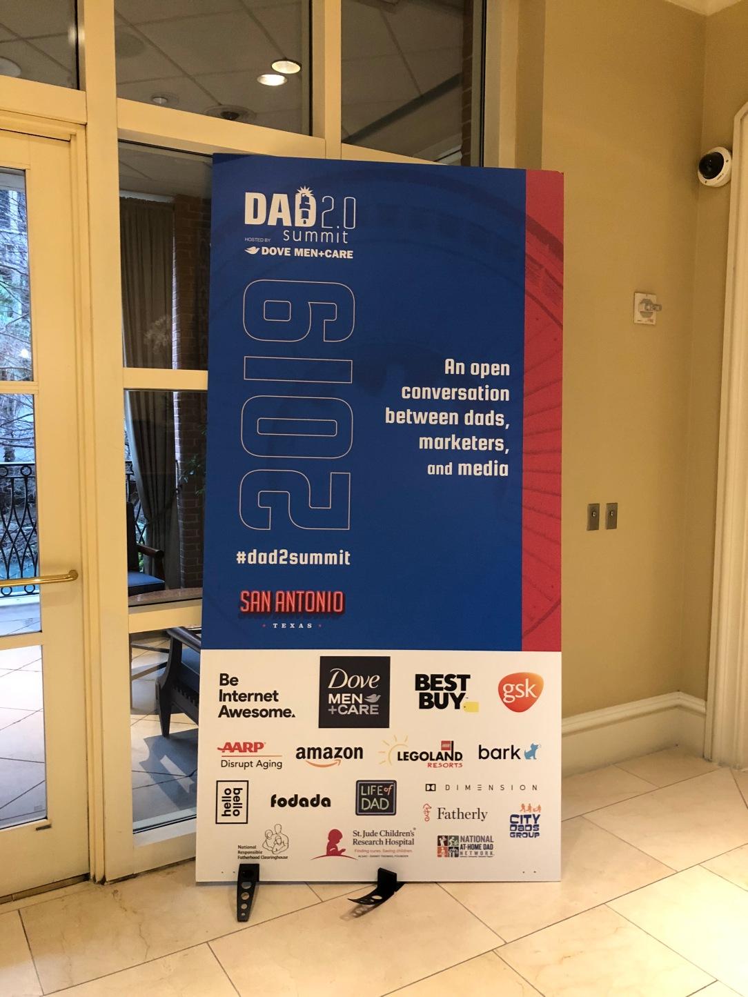 Dad 2.0 Summit Banner